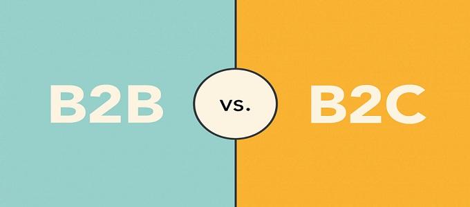 B2B กับ B2C