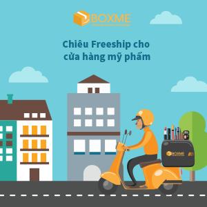 """Làm sao tận dụng chiêu """"freeship"""" để tăng đơn hàng mỹ phẩm online?"""