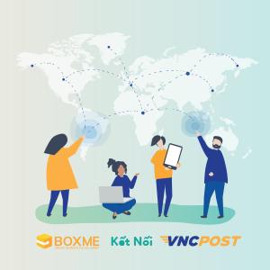 Boxme tiếp tục mở rộng kết nối với hãng vận chuyển VNC Post
