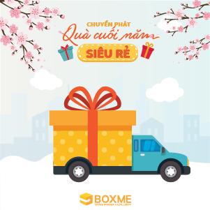 Giải pháp giao quà cuối năm từ Boxme - Tiết kiệm đến 50% chi phí và thời gian cho chiến dịch tặng quà của doanh nghiệp
