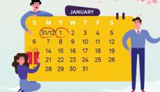 Boxme thông báo lịch nghỉ Tết Dương lịch 2019