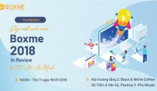 Tổng kết và giải đáp thắc mắc tại Boxme 2018 In Review Hà Nội