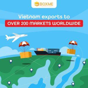 Vietnam exports to over 200 markets worldwide