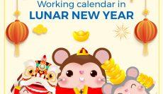 Boxme Global working calendar in Lunar New Year 2020