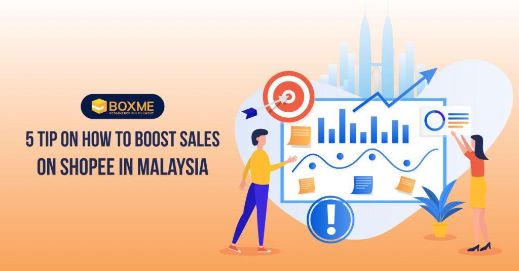 Boost sales Shopee Malaysia