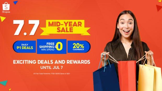 Shopee's marketing mix